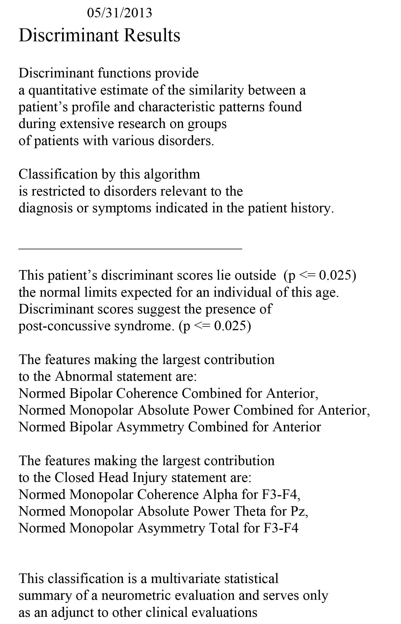 post-concussion syndrome treatment program - scottsdale, Skeleton